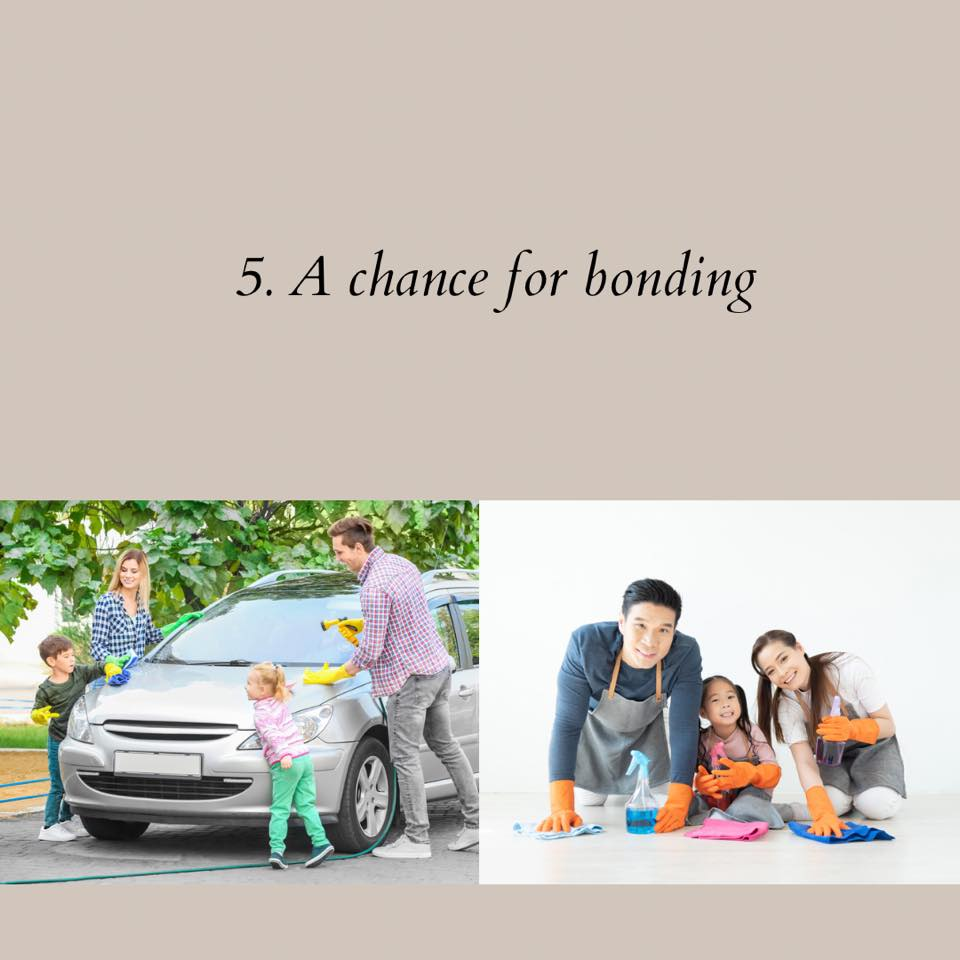 a chance of bonding with the family